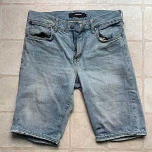 J Lindberg Light Wash Shorts SZ 29